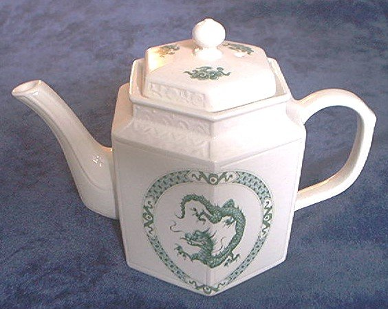 DRAGON TEA POT~GOEBEL~ARTHUR WOOD~ENGLAND~RARE~ELEGANT~UNUSED