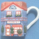 "AVON COTTAGE WARE ""FLORIST"" MUG ~PRETTY"