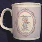 ENESCO PRECIOUS MOMENTS CONGRATULATIONS GRADUATE MUG ~1989
