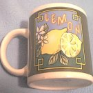 GIBSON HOUSEWARES LEMON MUG ~LEMONS ~FRUIT