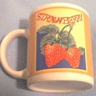 GIBSON HOUSEWARES STRAWBERRY MUG