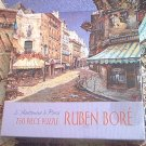 CEACO JIGSAW PUZZLE ~750 PC~COMPLETE~RUBEN BORE~AUTUMN STREET-PARIS