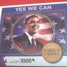 BARACK OBAMA COMMEMORATIVE JIGSAW PUZZLE ~1000 PCS~MINT~NEVER OPENED~44TH PRESIDENT~M BRADLEY