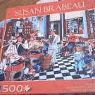 SUSAN BRABEAU JIGSAW PUZZLE ~KIDS HALF PRICE DAY~COMPLETE~500 PCS~ BARBERSHOP