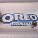 OREO COOKIES ADVERTISING SERVING DISH ~LOOKS LIKE REAL COOKIES
