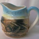 ROCK CITY LOOKOUT MOUNTAIN GEORGIA SOUVENIR CREAMER PITCHER ~JAPAN