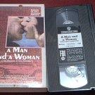 A MAN AND A WOMAN~VHS~UN HOMME et UNE FEMME~ANOUK AIMEE~JL TRINTIGNANT~FOREIGN~1966