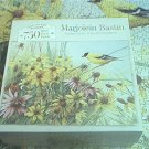 MARJOLEIN BASTIN JIGSAW PUZZLE ~750 PCS~LIFE IN FULL BLOOM~COMPLETE~DAISIES~BIRD