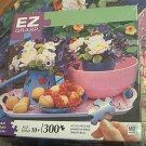 M BRADLEY EZ GRASP JIGSAW PUZZLE ~SWEET RETREAT~COMPLETE~300 LARGE PIECES~FRUIT/FLOWERS