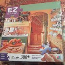M BRADLEY EZ GRASP JIGSAW PUZZLE ~IN THE KITCHEN~COMPLETE~300 LARGE PIECES