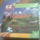 M BRADLEY EZ GRASP JIGSAW PUZZLE ~BLICKLING HALL NORFOLK ENGLAND~COMPLETE~300 LARGE PIECES