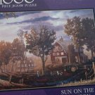 BITS AND PIECES JIGSAW PUZZLE ~SUN ON THE HORIZON~GREG BENSON~COMPLETE~BARN/TRACTOR