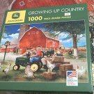 JOHN DEERE JIGSAW PUZZLE ~GROWING UP COUNTRY~ZOLAN~BARN~TRACTOR~COMPLETE