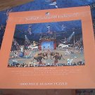 CEACO JIGSAW PUZZLE ~SALLY CALDWELL FISHER~MONTE CARLO CIRQUE~CIRCUS~CLOWNS~ELEPHANTS