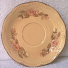 FRANCISCAN DINNERWARE SAUCER ~ROSETTE~PINK AND WHITE FLOWERS