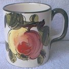 APPLE MUG  ~MADE IN ITALY~WHITE-RED-GREEN-BROWN~PRETTY