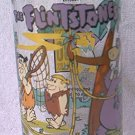HARDEE'S PROMOTIONAL ADVERTISING GLASS ~FLINTSTONES FIRST 30 YEARS~SNORKASAURUS