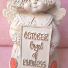 ABBEY PRESS OCTOBER ANGEL OF KINDNESS FIGURINE
