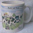COWREER COWS MUG ~2001~DOCTOR/NURSE ~DAIRY FARMER~CUTE