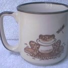 FROG AND DRAGONFLY MUG ~ MADE IN JAPAN