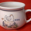 HEN ON NEST SOUP OR EXTRA BIG COFFEE) MUG ~CHICKEN