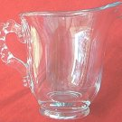 IMPERIAL CANDLEWICK CREAMER ~CRYSTAL~CLEAR~BUBBLE HANDLE~PERFECT