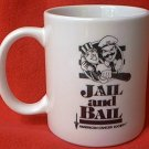 JAIL AND BAIL MUG ~AN ARRESTING EXPERIENCE ~AMERICAN CANCER SOCIETY