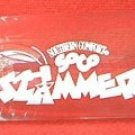 SOUTHERN COMFORT SOCO SLAMMER ADVERTISING SHOT GLASS