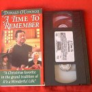 A TIME TO REMEMBER~VHS~DONALD O'CONNOR~RUBEN GOMEZ~CHRISTMAS HTF FAVORITE~1993