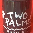 TWO PALMS HONOLULU HAWAII SOUVENIR MUG