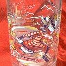 WALT DISNEY WORLD 25TH ANNIVERSARY GLASS ~1996~GOOFY~REMEMBER THE MAGIC