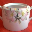 VINTAGE NIPPON AZALEA SUGAR BOWL ~NO LID-BOTTOM ONLY~JAPAN~HAND PAINTED