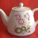 PRETTY PRIMROSE OR POPPY 4-CUP PORCELAIN TEAPOT