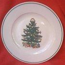 BADCOCK CHRISTMAS TREE DINNER PLATE ~10.25 IN~ADVERTISING