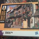 M BRADLEY BIG BEN JIGSAW PUZZLE ~RIBEAUVILLE ALSACE FRANCE~1000 COMPLETE