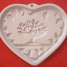 1999 PAMPERED CHEF COOKIE PRESS MOLD~COME TO THE TABLE HEART