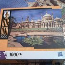 M BRADLEY BIG BEN JIGSAW PUZZLE ~BRIGHTON EAST SUSSEX ENGLAND~1000 COMPLETE~LILY POND