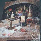 BITS AND PIECES STUDIO JIGSAW PUZZLE ~SPILLED WINE~HARGROVE~COMPLETE~STILL LIFE