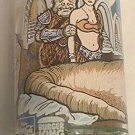 1983 STAR WARS RETURN OF THE JEDI PROMO GLASS ~JABBA ~PRINCESS LEIA~COCA COLA/BURGER KING