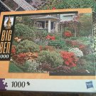 M BRADLEY BIG BEN JIGSAW PUZZLE ~PORTLAND OREGON USA~1000 COMPLETE~GARDEN