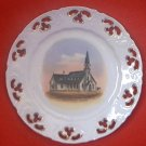 VINTAGE CHURCH PLATE~TRINITY EPISC~POCATELLO IDAHO~GERMAN~c1920'S~PIERCED