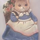 TAKAHASHI MAMA TEDDY BEAR SPOON REST ~MADE IN JAPAN~SWEET