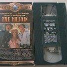 THE VILLAIN~VHS~KIRK DOUGLAS, ANN MARGRET, ARNOLD SCHWARZENEGGER~1979