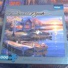 BUFFALO GAMES JIGSAW PUZZLE ~DARRELL BUSH~AUTUMN AT THE LAKE~1000~COMPLETE
