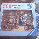 RAVENSBURGER 500 PC JIGSAW PUZZLE ~MERLIN AND ARTHUR~COMPLETE~SCOTT GUSTAFSON~MAGIC