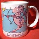 SAGITTARIUS ZODIAC MUG ~HORSE~FORECAST~pokes gentle fun at the sign