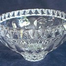 MIKASA CRYSTAL CANDY NUT POT POURRI BOWL ~SLOVENIA~6 IN~SAVOY?