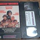 BREAKTHROUGH~VHS~ROBERT MITCHUM, RICHARD BURTON, ROD STEIGER~1979 RARE