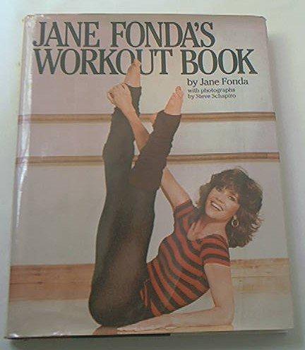 JANE FONDA'S WORKOUT BOOK~1981~HARDCOVER W/DUST JACKET~FITNESS