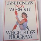 JANE FONDA'S NEW WORKOUT AND WEIGHT LOSS PROGRAM~SC BOOK~FITNESS 1986